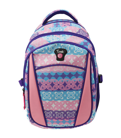trek aztec backpack - multicolor