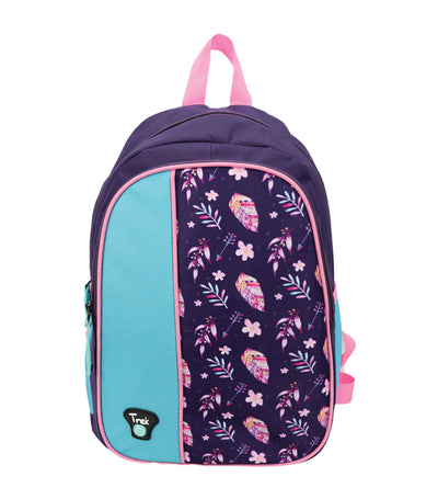 trek boho backpack - purple