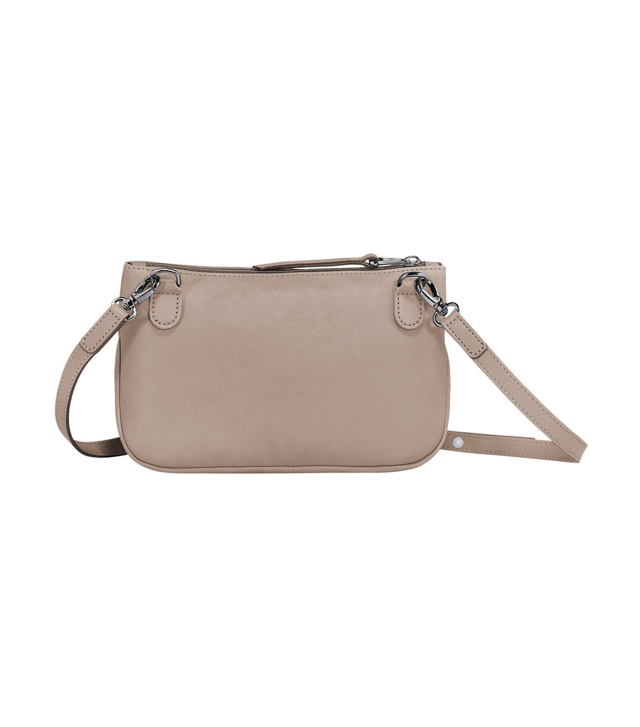3D Crossbody Bag Brown