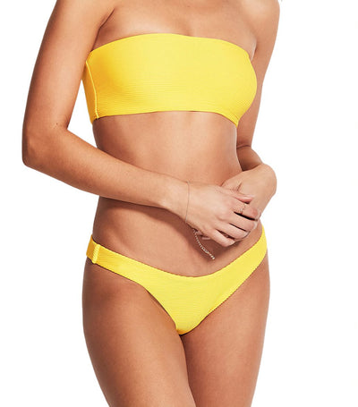 Essentials Bandeau Bikini Set Sunflower