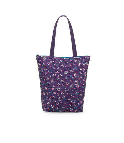 Yucca Purple Bouquet Daily Tote Bag