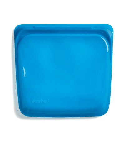 Stasher Reusable Silicone Sandwich Bag - Blueberry