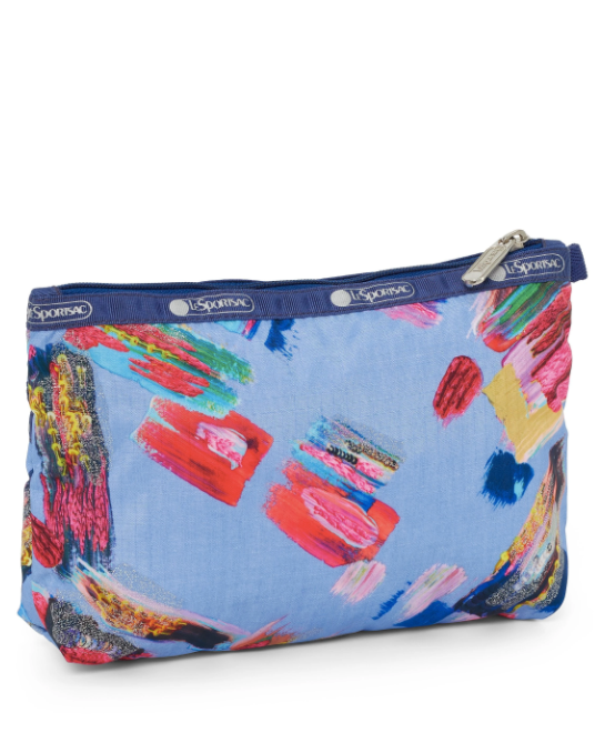 Painterly Cosmetic Clutch