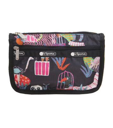 Travel Cosmetic Case Midnight Menagerie