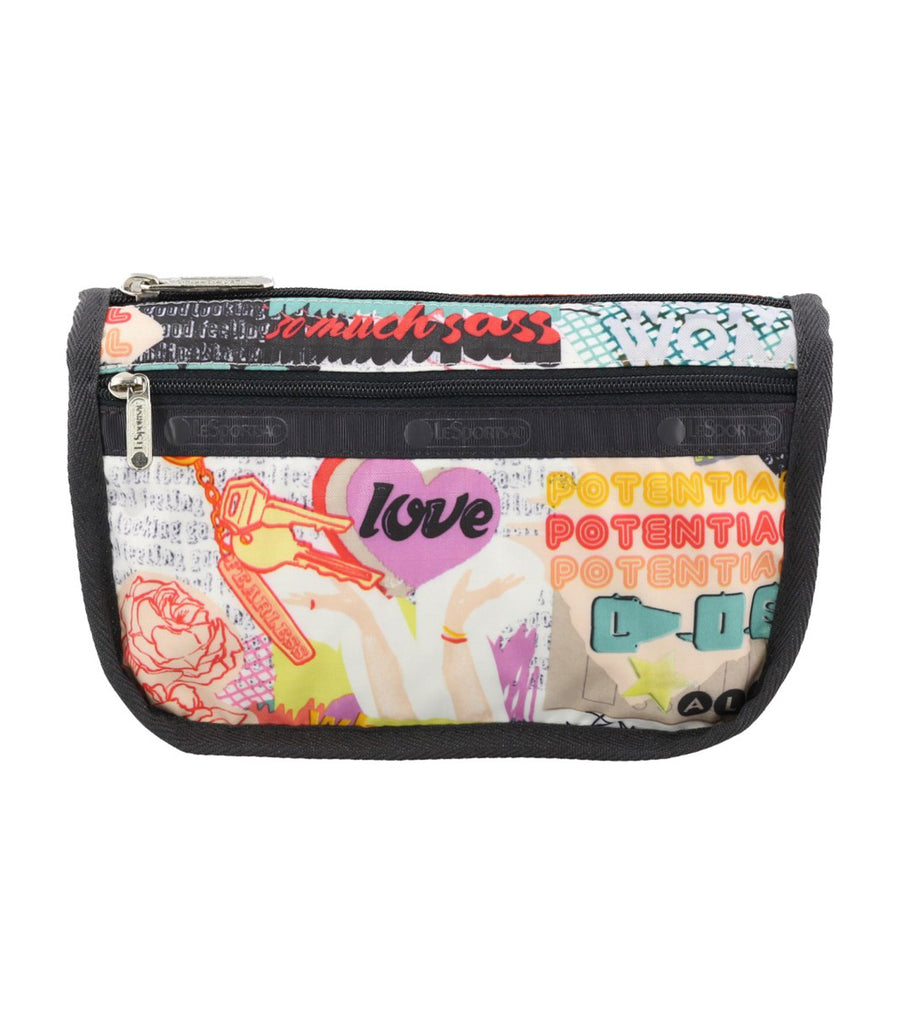 Travel Cosmetic Case Stay Golden