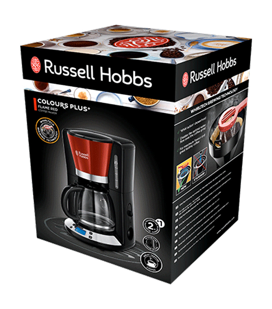 Colours Plus+ Coffee Maker - Flame Red