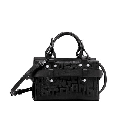 La Voyageuse LGP Top-Handle Bag Black