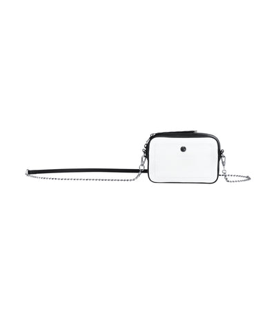 Le Foulonné Graphique Crossbody and Belt Bag White