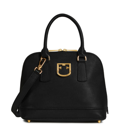 Furla Fantastica S Dome Bag Onyx