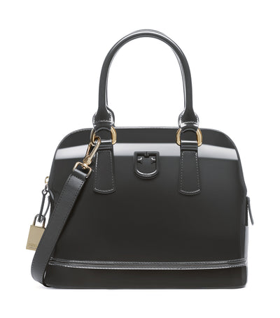 Furla Candy S Dome Bag Asfalto