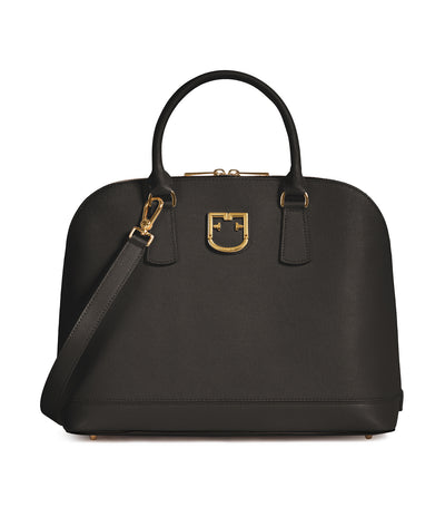 Furla Fantastica M Dome Bag Asfalto