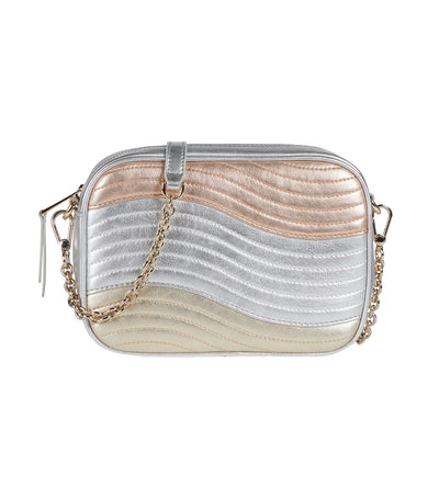 Swing Mini Crossbody Cipria/Silver/Platino