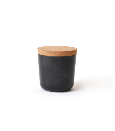 MakeRoom Claro Small Storage Jar - Black
