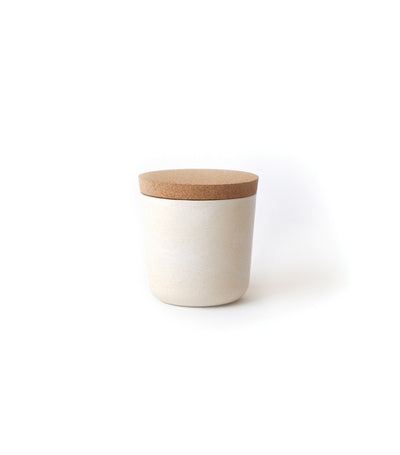 MakeRoom Claro Small Storage Jar - White