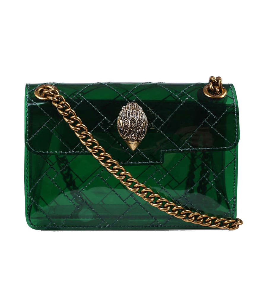 Transparent Mini Kensington Bag Green