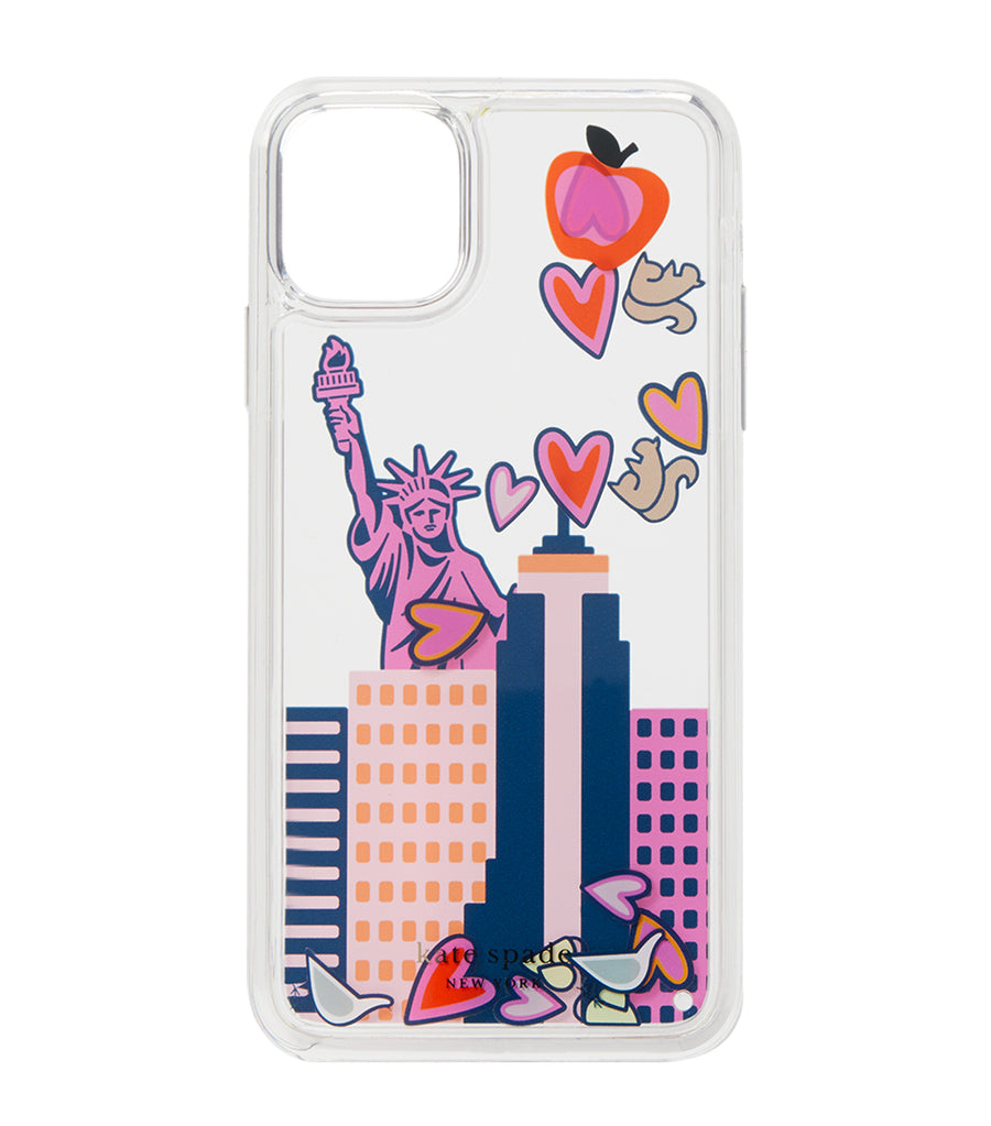 NYC Liquid Confetti iPhone 11 Pro Case