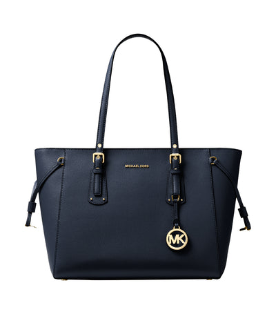 Voyager Medium Crossgrain Tote Bag Admiral Navy