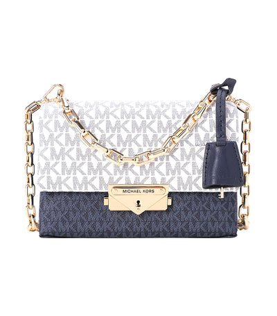 Cece Extra-Small Logo Crossbody Bag Navy Multi