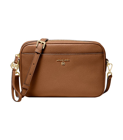 Jet Set Charm Large East/West Camera Crossbody Bag Luggage Tan