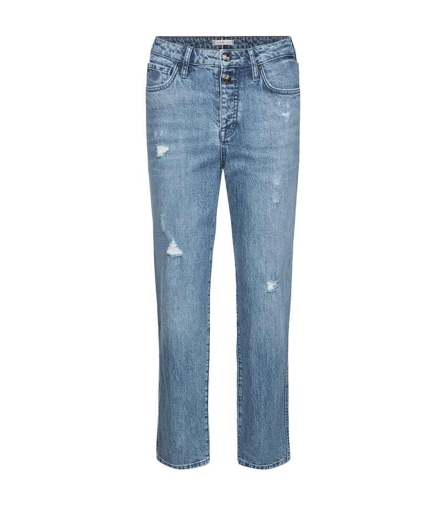 Classic Straight-Fit High-Waist Jeans Milo