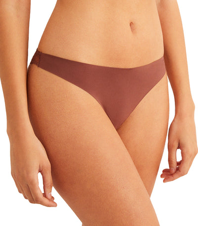 Comfort Revolution Seamless Supersoft Thong Tan