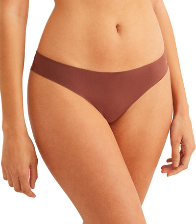 Comfort Revolution Supersoft Brazilian Brief Tan