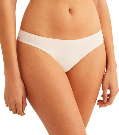 Comfort Revolution Supersoft Brazilian Brief White
