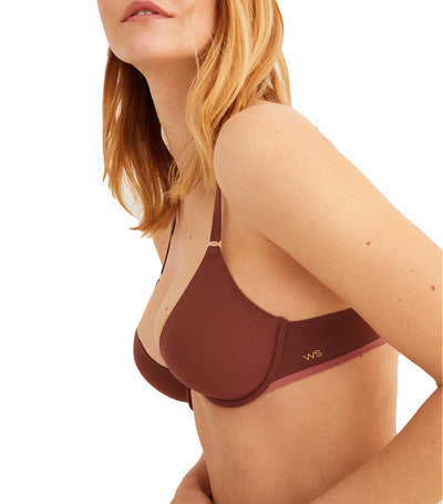 Supersoft Comfort Revolution Seamless Push-Up Bra Tan