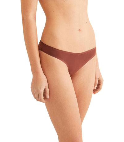 Comfort Revolution Supersoft Seamless Hipster Brief Tan