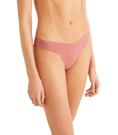 Comfort Revolution Supersoft Brazilian Brief Pink