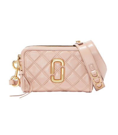 The Quilted Softshot Bag Nude