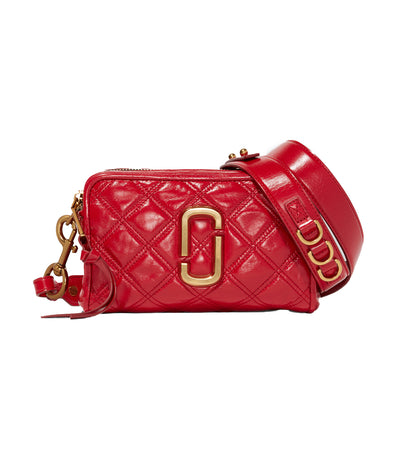 The Quilted Softshot Bag Berry