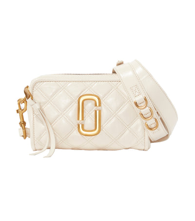 The Quilted Softshot Bag Ivory