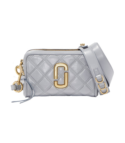 The Quilted Softshot Bag Rock Gray