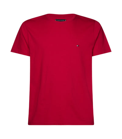 Essential Crew Neck T-Shirt Primary Red