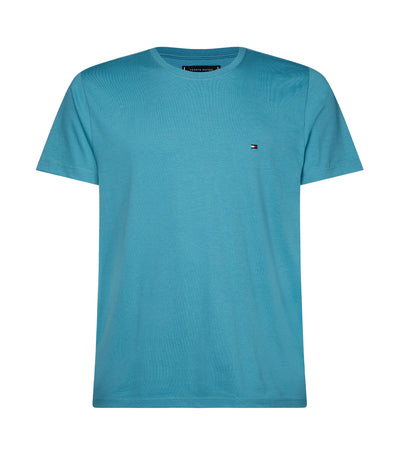 Essential Crew Neck T-Shirt Lakeside Blue
