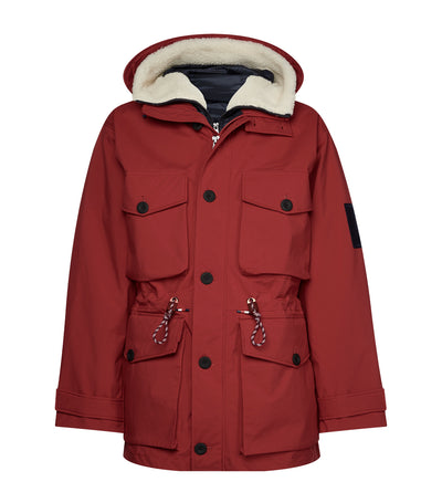 3-in-1 Field Parka Jacket Primary Red