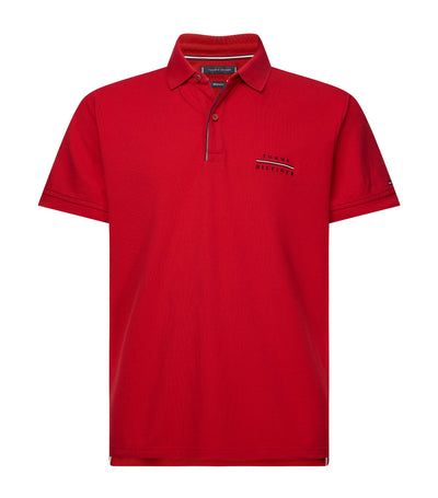 Cotton Pique Regular Fit Polo Primary Red