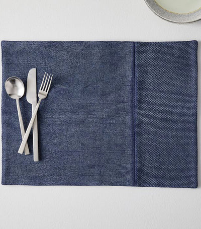 West Elm Cotton Canvas Placemat Set of 2 - Midnight