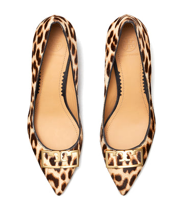Gigi Pointed Toe Pump Leopard