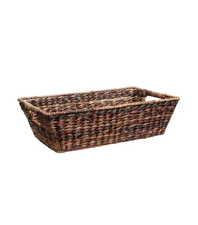 Pottery Barn Havana Handwoven Seagrass Underbed Basket - Small