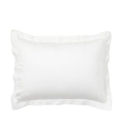 Pottery Barn Tencel™ Wrinkle-Resistant Standard Pillow Sham - White