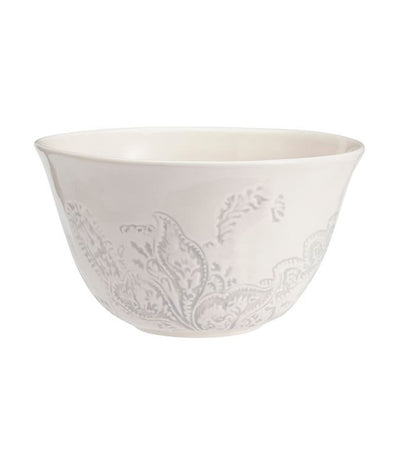 Pottery Barn Scarlett Paisley Individual Bowl - Set of 4