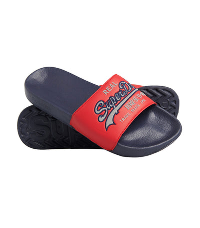 Men's Pool Slides Chinese New Year Red