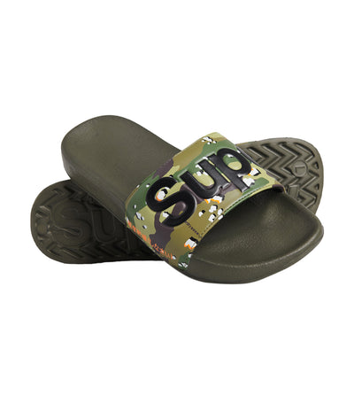Men's Classic Pool Slides Camo