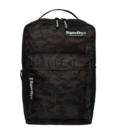 Men's Academic Reflective Rucksack Black Camo