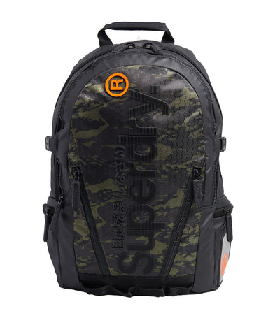 Men's Tarp Backpack Camo Green