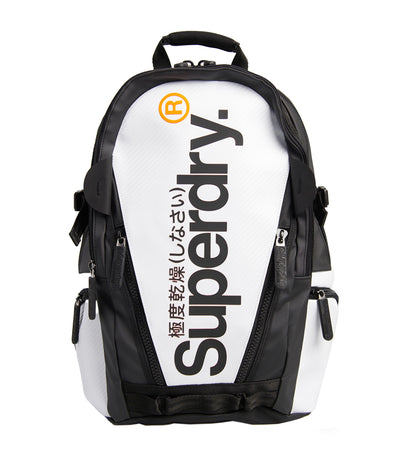 Men's Tarp Backpack White