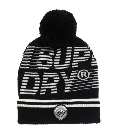 Men's Mono Logo Beanie Black