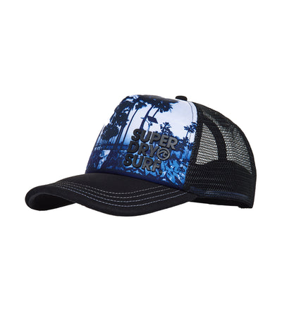 Men's Graffiti Trucker Cap Mono